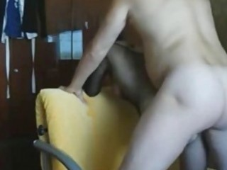 dilettante wife acquires anal creampie