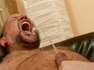 grandpapa fucking and pissing on nasty redhead