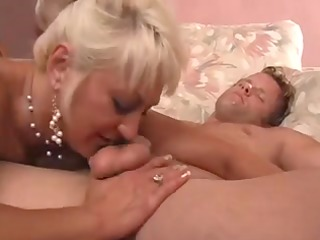 blond aged mother id like to fuck shows her
