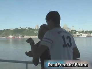 sexy french girlfriend cruise ship sex part0