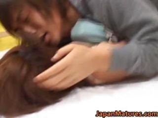kaori nanba japanese older chick acquires part11