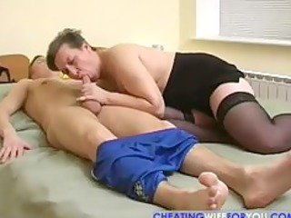 russian mature goes wild part1