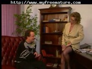 office milf in nylons fucks mature older porn