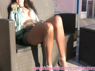 breasty cumface oral job mother i in pantyhose