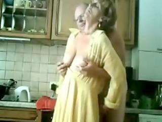 granny acquires fingered by her old dude