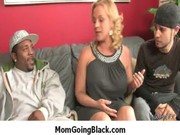 interracial porn concupiscent mom drilled by dark