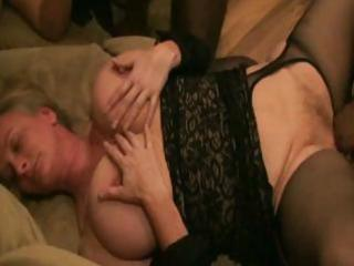 older interracial fuck fest