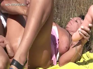 horny mother i receives drilled hard outdoor free