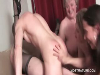 aged hawt hottie cookie drilled to big o in group