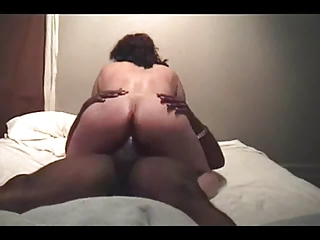 wife takes on threesome nutts (cuckold)