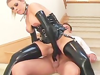breasty d like to fuck fucking in latex stockings