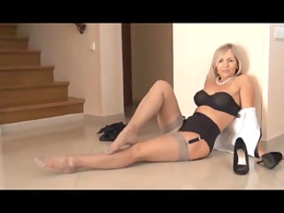 Mature nylons tube