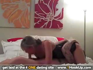 hot wife with worthwhile ass rides on top