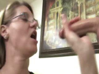 breasty sluty older rubs her juvenile studs dick