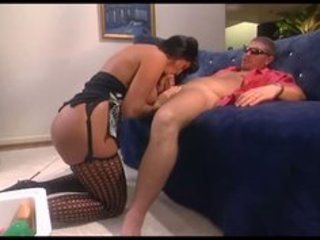 breasty mother i drilled in dark nylons and a