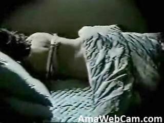 mama go to bed and... masturbates. hidden web