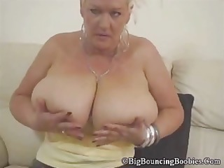 mega milk shakes jerking off her filthy pussy