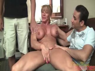 older muscle worship part 1