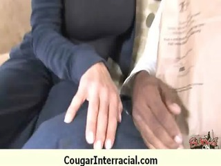 cougar drilled deep by black monster pecker 11