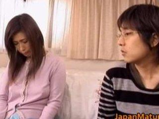 japanese older woman has cute part4