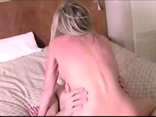 golden-haired mommy fuck hard his son