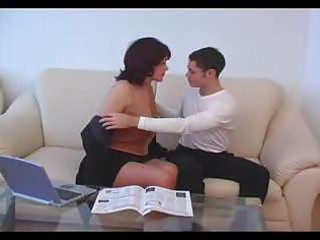 mature mommy drilled by young chap dilettante