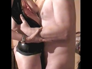 mrs b latex 6 fuck titslap and handjob