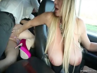 threeway orgy with my breasty wife