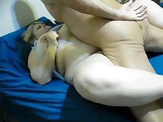 big beautiful woman woken by her spouse