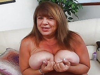 older momma with additional huge bosom sticks