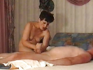 unshaved older turkish woman with diminutive