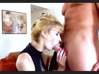 nice-looking golden-haired middle-age whore with
