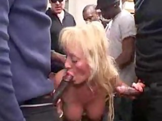 french busty golden-haired mature group-sex