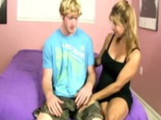 legal age teenager and milf tug pounder together