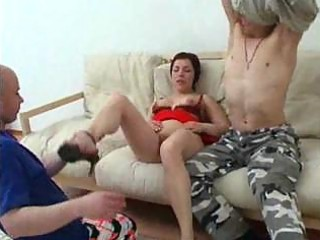 mamma has anal sex with her son and his ally