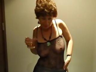 drunk mother i drunk concupiscent british granny