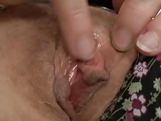 fishnet granny fingers