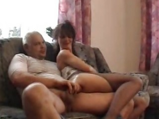 older amateur wife homemade fuck with jizz flow
