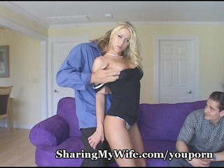playgirl shows her hubby how he is should fuck