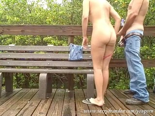 caught fucking in public