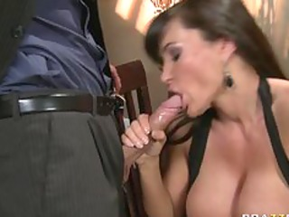 large tit milf brunette hair wife pornstar lisa