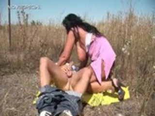 lewd mother i receives drilled hard outdoor