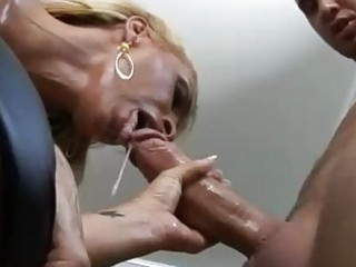 tight wazoo blonde momma with large knockers