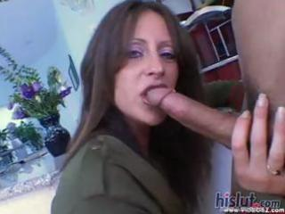 aged girl liza gets his creamy goo on her arse