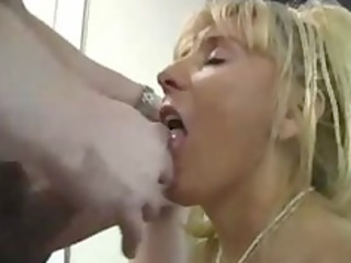 aged breasty cougar fucks younger lad