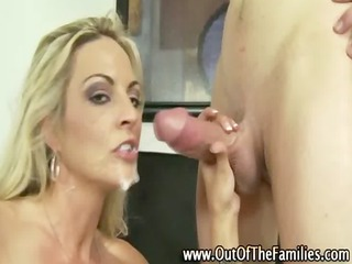 naughty amateur wench receives a ejaculation