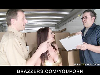 large tit wife brunette hair pornstar caught