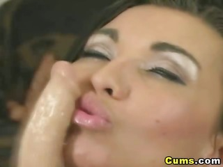 dildo that is squirts white jizz hd