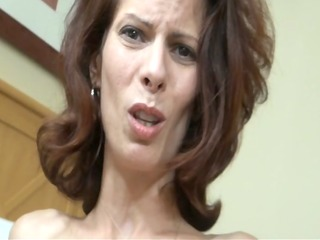 son blackmailes mom and cums inside of her 3