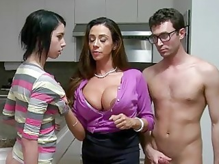 stepmom d like to fuck lets guy facial cock juice